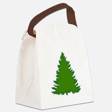 Pine Tree Canvas Lunch Bag