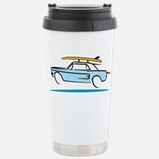 67 Ford Mustang Gone Su Stainless Steel Travel Mug
