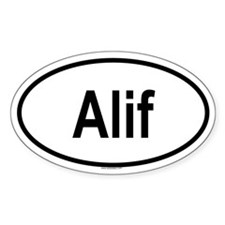 ALIF Oval Decal