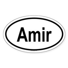 AMIR Oval Decal
