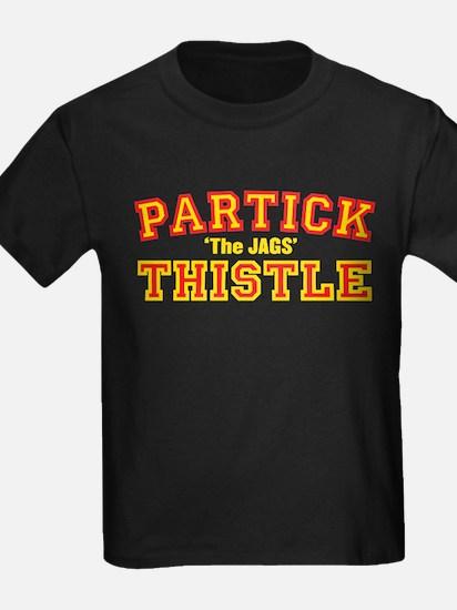 College Style Black T-Shirt