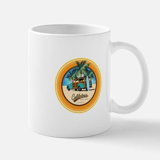 Woodie in California Mug