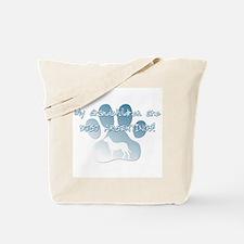 Dogo Argentino Grandchildren Tote Bag