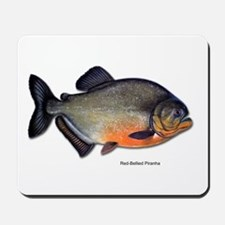 Red-Bellied Piranha Fish Mousepad