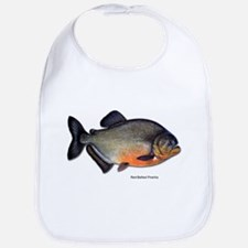Red-Bellied Piranha Fish Bib