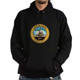Santa cruz beach boardwalk Dark Hoodies