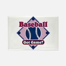 Baseball Got Game? Rectangle Magnet