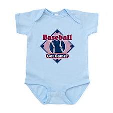 Baseball Got Game? Infant Bodysuit