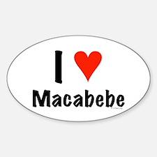 I love Macabebe Oval Decal