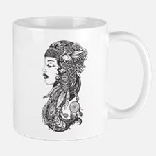 Gypsy girl art Mugs