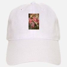 red Japanese maple up close in shallow focus Baseball Baseball Cap