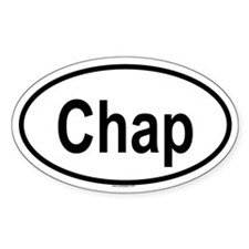 CHAP Oval Decal