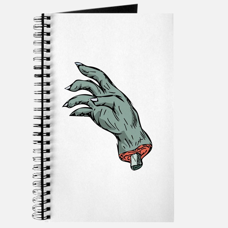 Zombie Monster Hand Drawing Journal