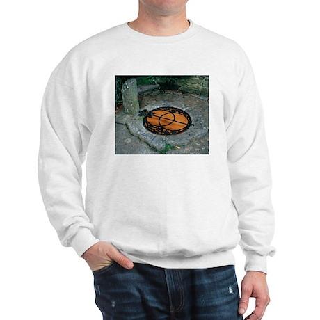 Chalice Well - Glastonbury UK Sweatshirt