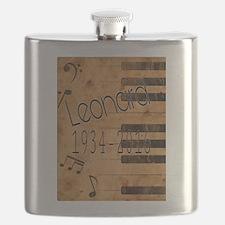 Leonard 1934-2016 Flask