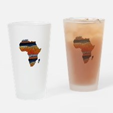AFRICA Drinking Glass