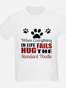 Hug The Standard Poodle T-Shirt
