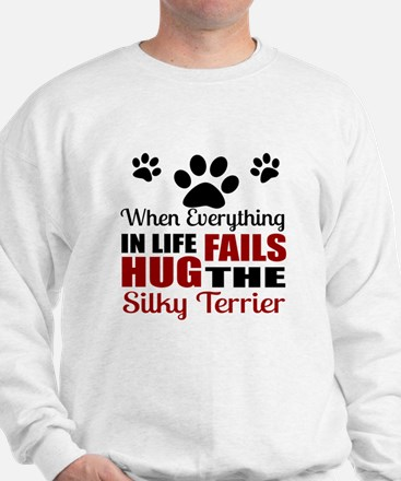 Hug The Silky Terrier Sweatshirt