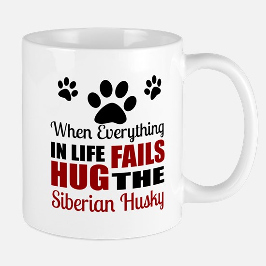 Hug The Siberian Husky Mug