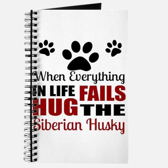 Hug The Siberian Husky Journal