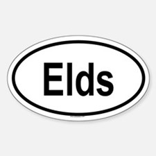 ELDS Oval Decal