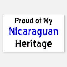 nicaraguan heritage Decal