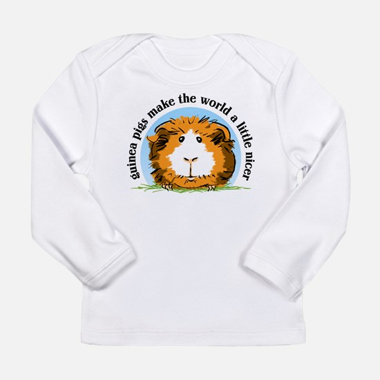 Guinea pigs make the world... Long Sleeve T-Shirt