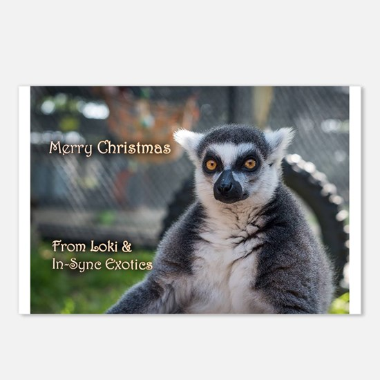 Loki Picture Ornament Postcards (Package of 8)