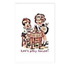 Let's play house! - Postcards (Package of 8)