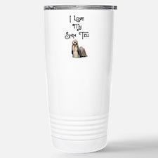 Cute Shih tzu dog lovers Travel Mug