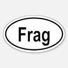 FRAG Oval Decal
