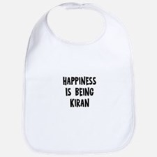 Happiness is being Kiran Bib