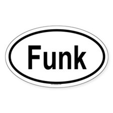 FUNK Oval Decal
