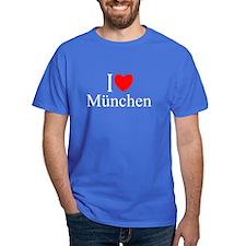 """""""I Love Munchen"""" T-Shirt"""