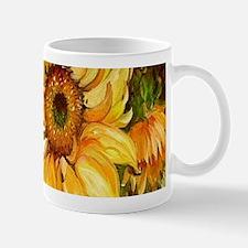 Pretty Sunflowers Mugs