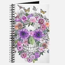 flower skull Journal