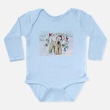 Wheaten Terrier Christmas Body Suit