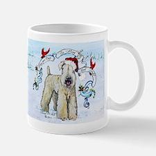 Wheaten Terrier Christmas Mugs