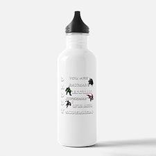 Daddy Superhero T Shir Water Bottle