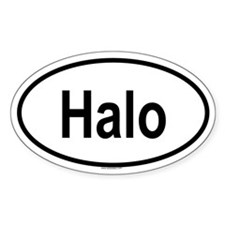 HALO Oval Decal