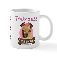Funny Princess Chihuahua Coffee Tea Mug