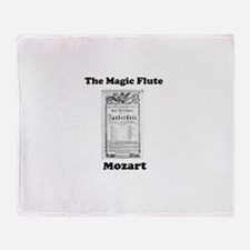 MOZART - THE MAGIC FLUTE Throw Blanket