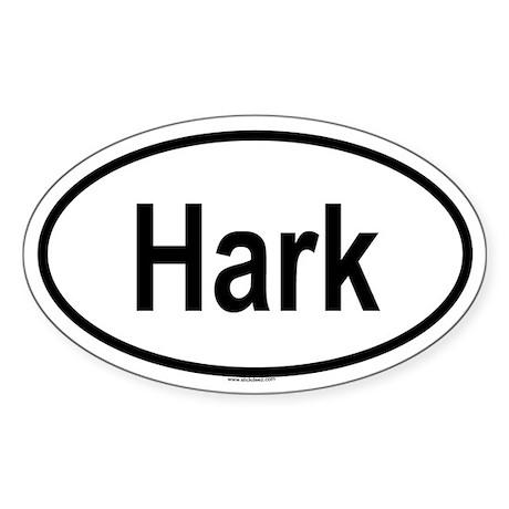 HARK Oval Sticker