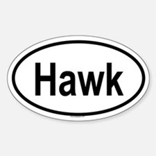 HAWK Oval Decal