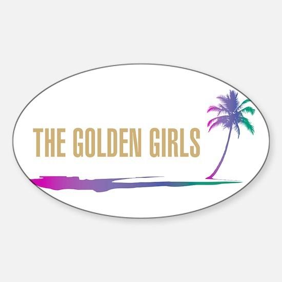 The Golden Girls Sticker (Oval)