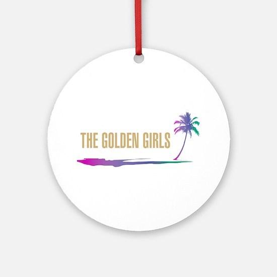 The Golden Girls Round Ornament