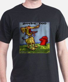 Grave Yard  DOG T-Shirt