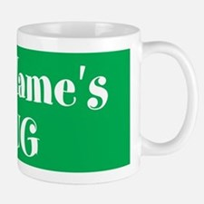 GREEN Personalized Mugs