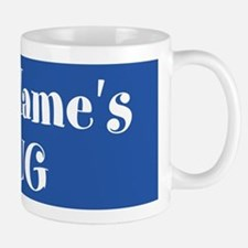 BLUE Personalized Mugs