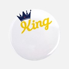 king and quen couple Button